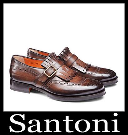 New Arrivals Santoni Shoes 2018 2019 Men's Winter 7