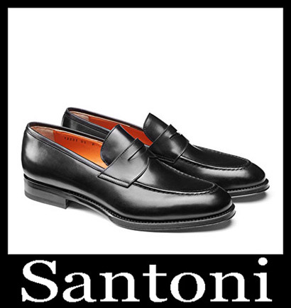 New Arrivals Santoni Shoes 2018 2019 Men's Winter 8