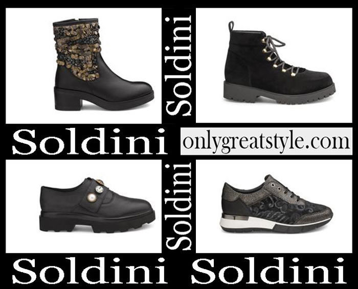 New Arrivals Soldini Shoes 2018 2019 Women's Fall Winter