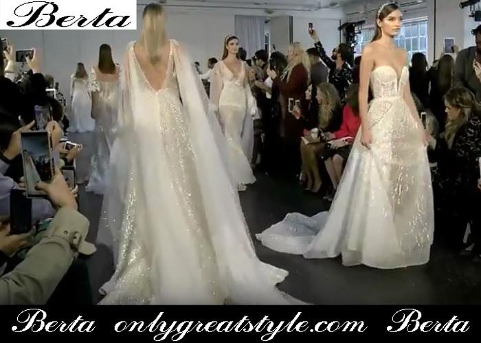 New Arrivals Bridal Berta Spring Summer 2019