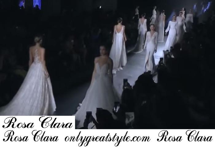 Bridal Rosa Clara 2019 Fashion Shows Spring Summer Dresses