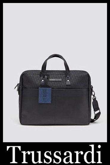 Trussardi Sale 2019 New Arrivals Bags Men's Look 1
