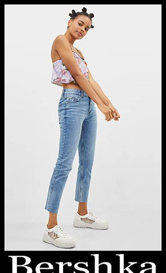 New Arrivals Bershka Jeans 2019 Women's Summer 48