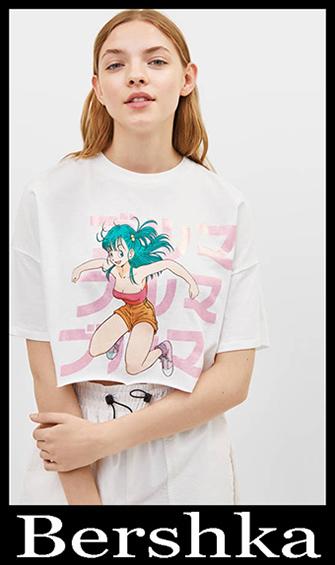 New Arrivals Bershka T Shirts 2019 Women's Summer 6