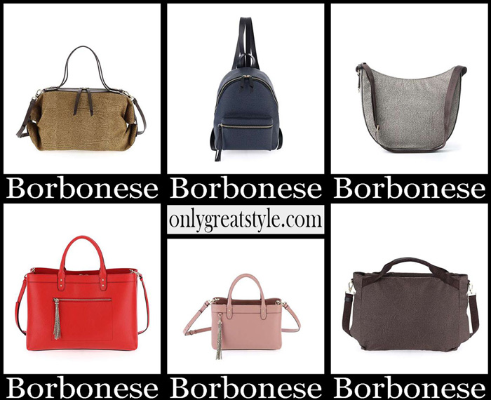 New Arrivals Borbonese Spring Summer 2019 Women's