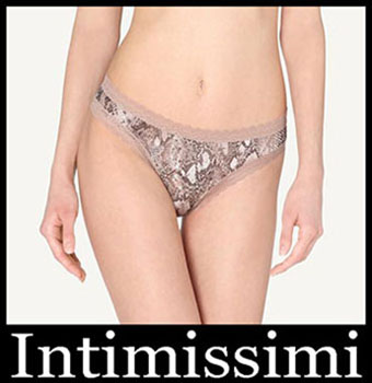 Underwear Intimissimi Panties 2019 Spring Summer 27