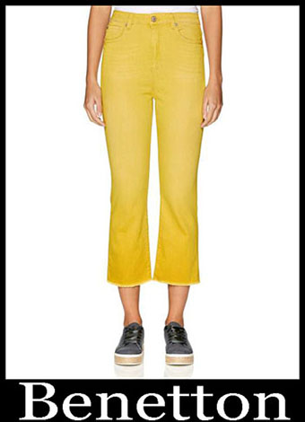 New Arrivals Benetton Jeans 2019 Womens Summer 12