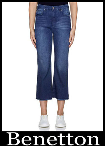 New Arrivals Benetton Jeans 2019 Womens Summer 13