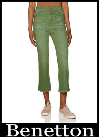 New Arrivals Benetton Jeans 2019 Womens Summer 14