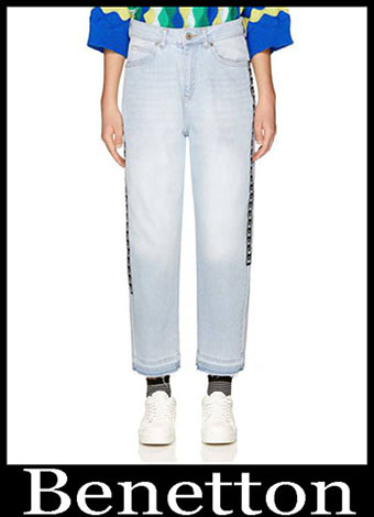 New Arrivals Benetton Jeans 2019 Womens Summer 15