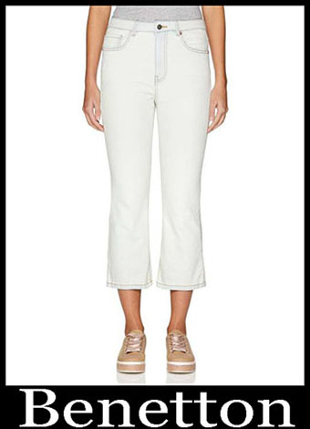 New Arrivals Benetton Jeans 2019 Womens Summer 16