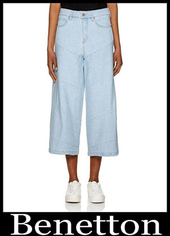 New Arrivals Benetton Jeans 2019 Womens Summer 21