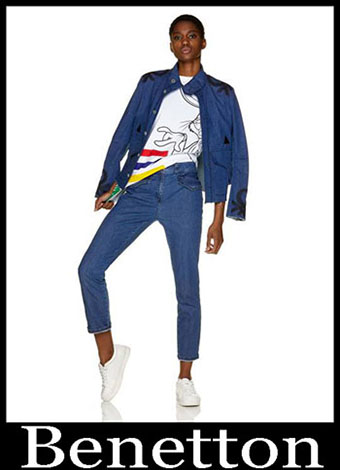 New Arrivals Benetton Jeans 2019 Womens Summer 34