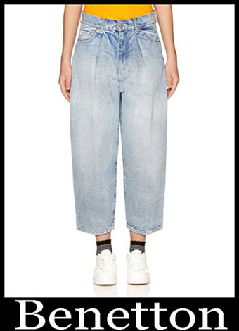 New Arrivals Benetton Jeans 2019 Womens Summer 7