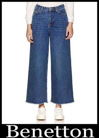 New Arrivals Benetton Jeans 2019 Womens Summer 8