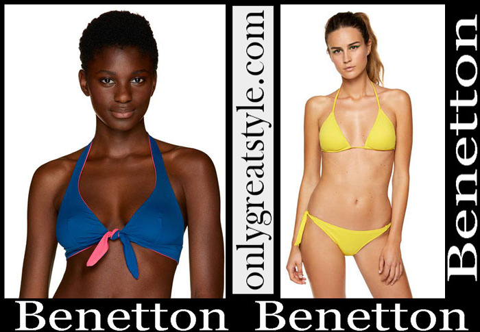 New Arrivals Benetton Spring Summer 2019 Bikinis
