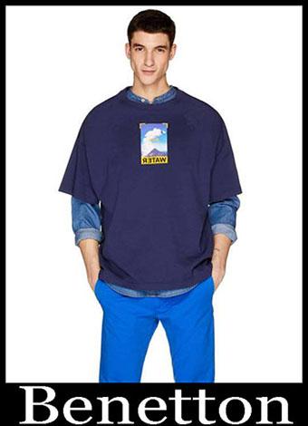 New Arrivals Benetton T Shirts 2019 Summer Mens Look 14