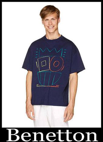 New Arrivals Benetton T Shirts 2019 Summer Mens Look 16