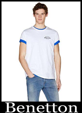New Arrivals Benetton T Shirts 2019 Summer Mens Look 7