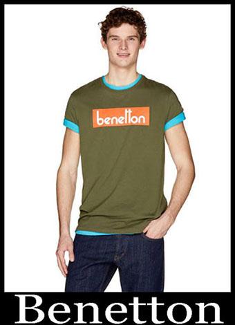 New Arrivals Benetton T Shirts 2019 Summer Mens Look 9