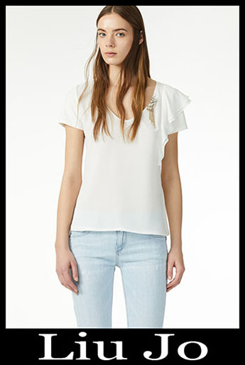 New Arrivals Liu Jo T Shirts 2019 Spring Summer Style 3