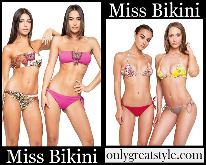 New Arrivals Miss Bikini Spring Summer 2019 Women's