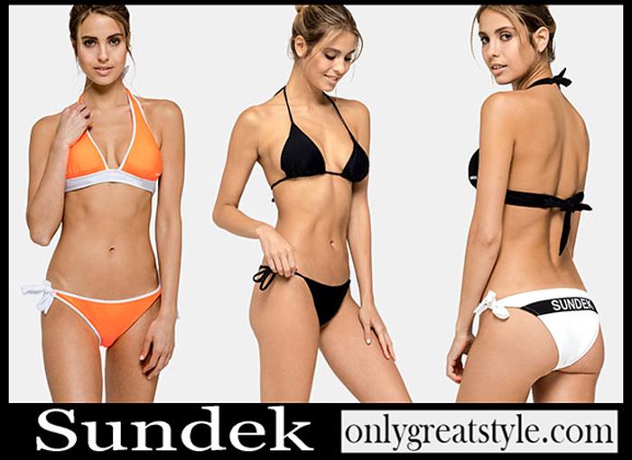 New Arrivals Sundek Spring Summer 2019 Bikinis