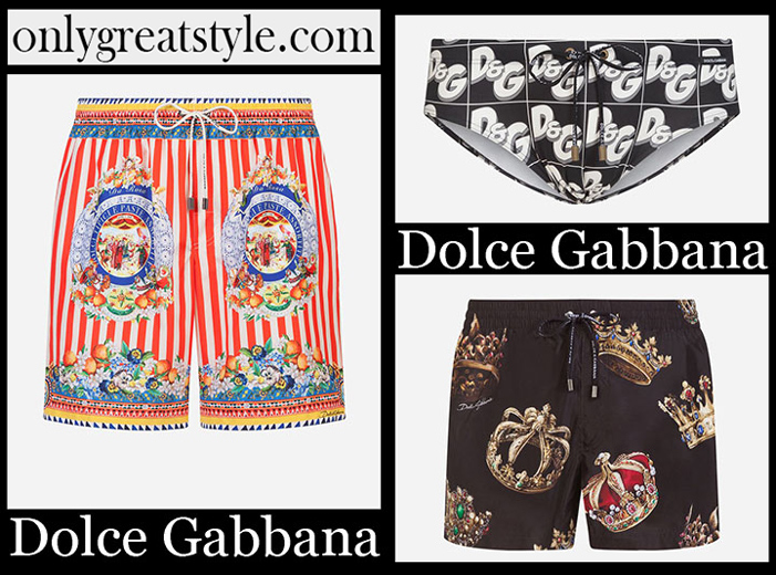 New Arrivals Dolce Gabbana Spring Summer 2019 Men's