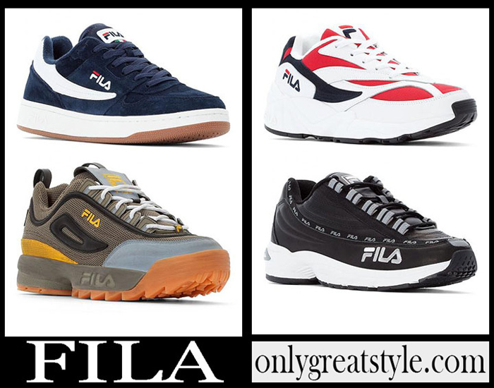 New Arrivals Fila Spring Summer 2019 Men's