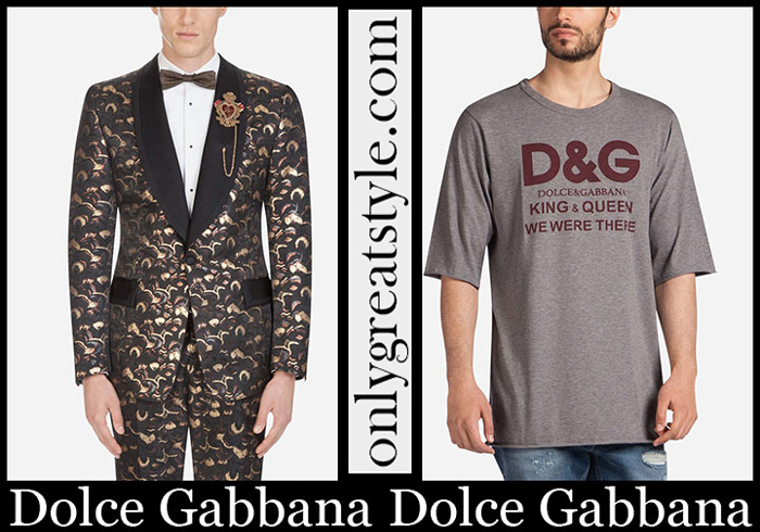 New Arrivals Sale Dolce Gabbana Spring Summer 2019 Men's