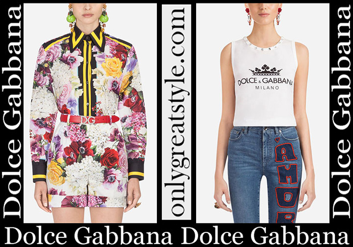 New Arrivals Sale Dolce Gabbana Spring Summer 2019 Women's