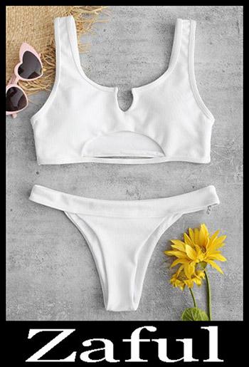 Padded BikiniZAFUL Ribbed Cutout Bikini Set