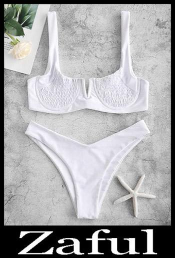V Cut BikiniZAFUL Underwire Smocked Bikini Set