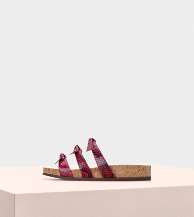 Birman Sandals Lolita Pool Monte Carlo Raspberry