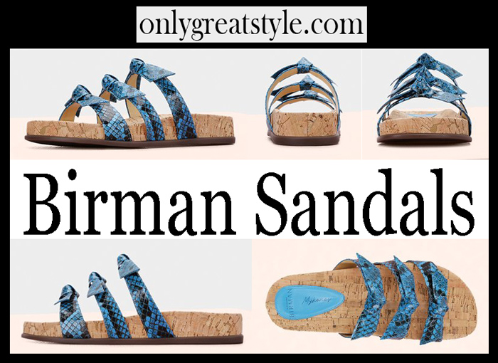 Birman Sandals Shoes Women's Clothing New Arrivals