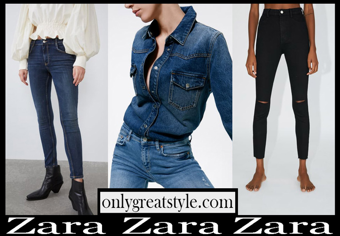New Arrivals Zara Jeans Collection Fashion