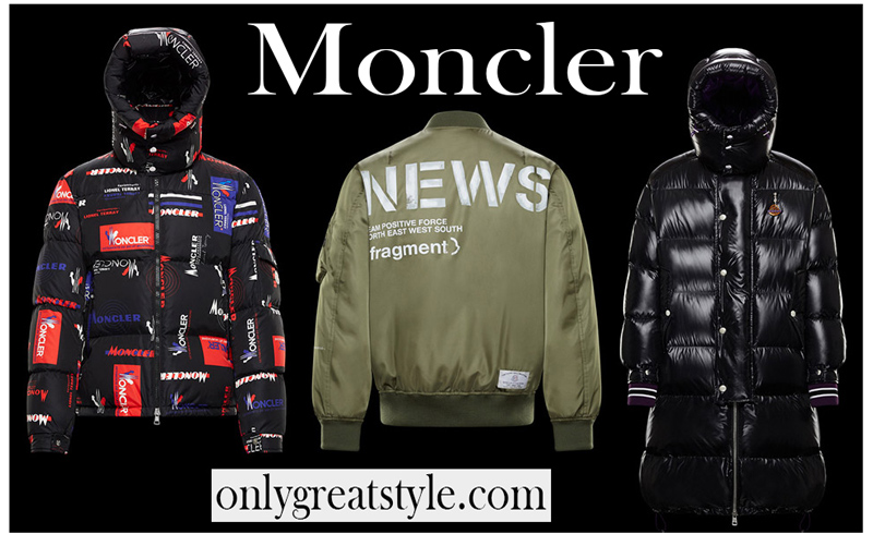 New arrivals Moncler jackets collection fashion