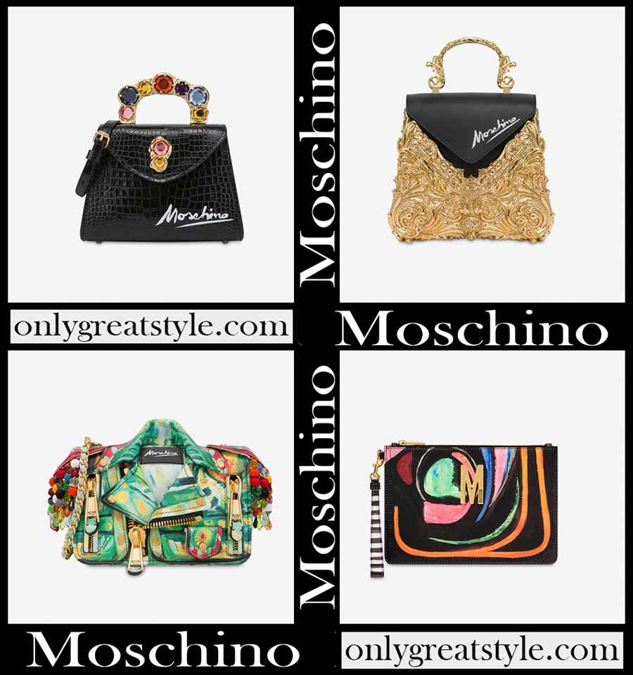 New arrivals Moschino womens bags 2020