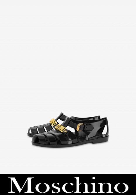 New arrivals Moschino womens shoes 2020 21