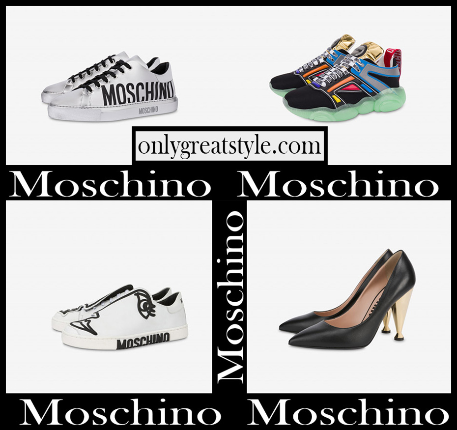 New arrivals Moschino womens shoes 2020