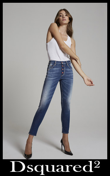 Denim clothing Dsquared² 2020 womens jeans 4