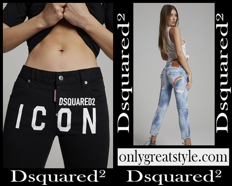 Denim clothing Dsquared² 2020 womens jeans