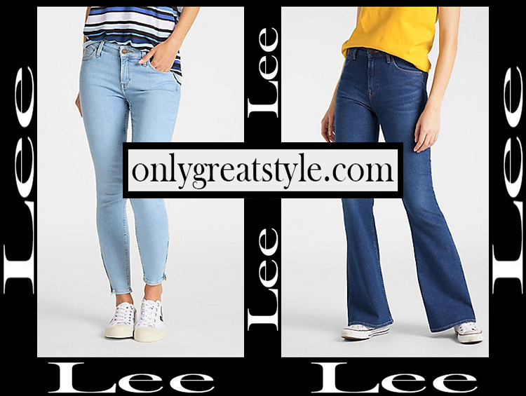 Denim clothing Lee 2020 womens jeans