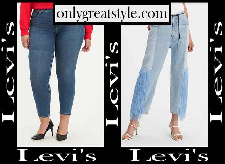 Denim clothing Levis 2020 womens jeans