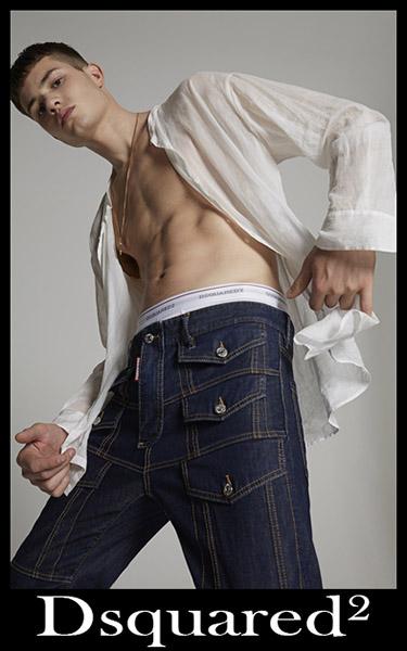 Denim fashion Dsquared² 2020 mens jeans 23