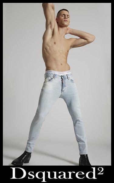 Denim fashion Dsquared² 2020 mens jeans 9