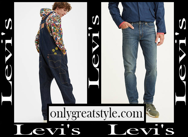 Denim fashion Levis 2020 mens jeans