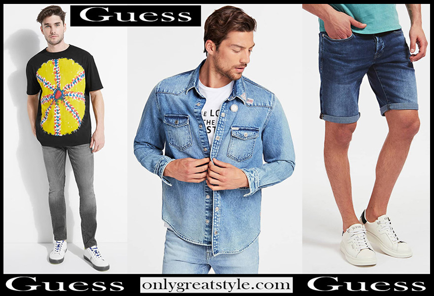 Guess Jeans 2020 New Arrivals Men S Fashion