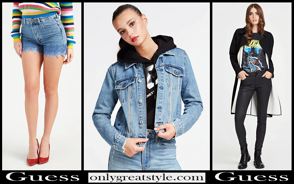 Guess jeans 2020 new arrivals womens clothing