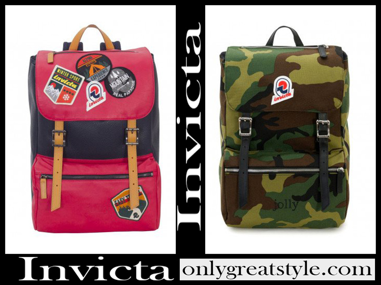 Invicta backpacks 2020 bags school free time